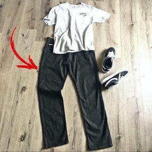 Vans Black Denim Jeans size 36x32